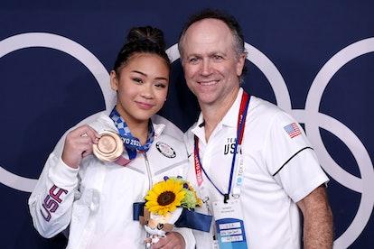 Jess Graba's twin brother Jeff will coach Suni Lee on Auburn's gymnastics team.