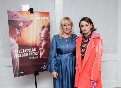 """Joey King and """"The Act"""" co-star Patricia Arquette pose together."""