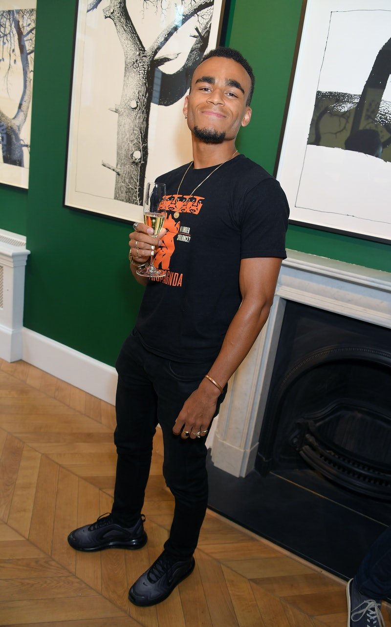 LONDON, ENGLAND - JUNE 20: Munya Chawawa attends the opening reception of 'The Suggestionists' by ar...
