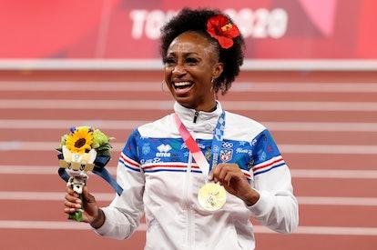 Jasmine Camacho-Quinn is Puerto Rico's second-ever gold medalist.