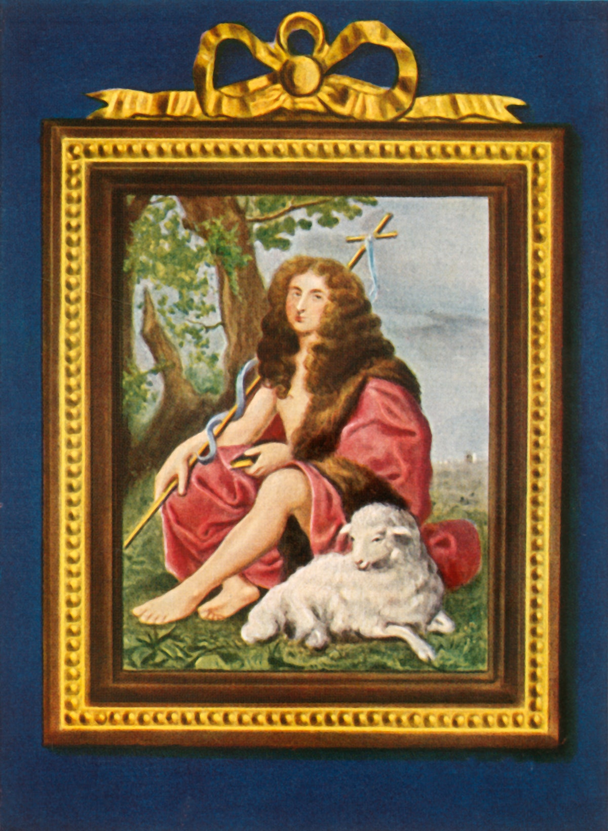 Philipp I. Herzog Von Orleans', (1933). Portrait of Philippe I, Duke of Orleans (1640-1701) as John ...
