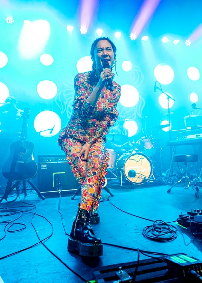 DETROIT, MICHIGAN - AUGUST 04: Michelle Zauner of Japanese Breakfast performs at St Andrews Hall on ...