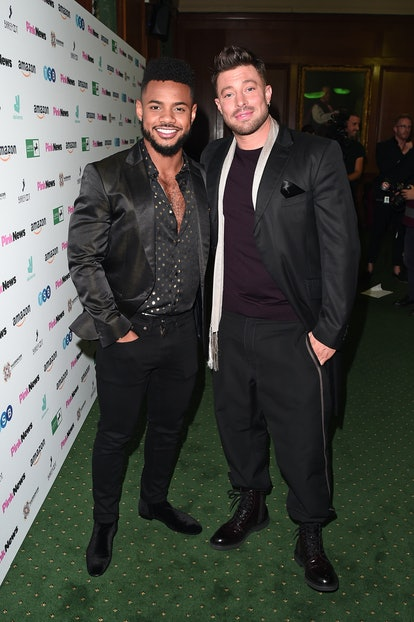 Rodrigo Reis and Duncan James attend the PinkNews Awards 2019 at The Church House