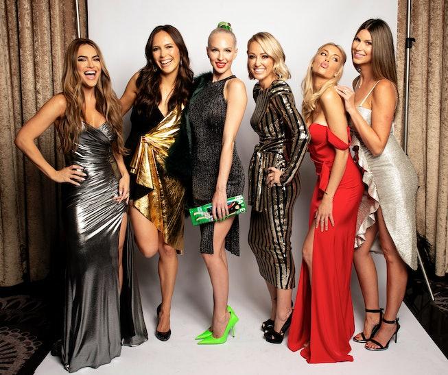 LOS ANGELES, CALIFORNIA - JUNE 02: 'Selling Sunset' cast at CRITICS' CHOICE REAL TV AWARDS - Portrai...