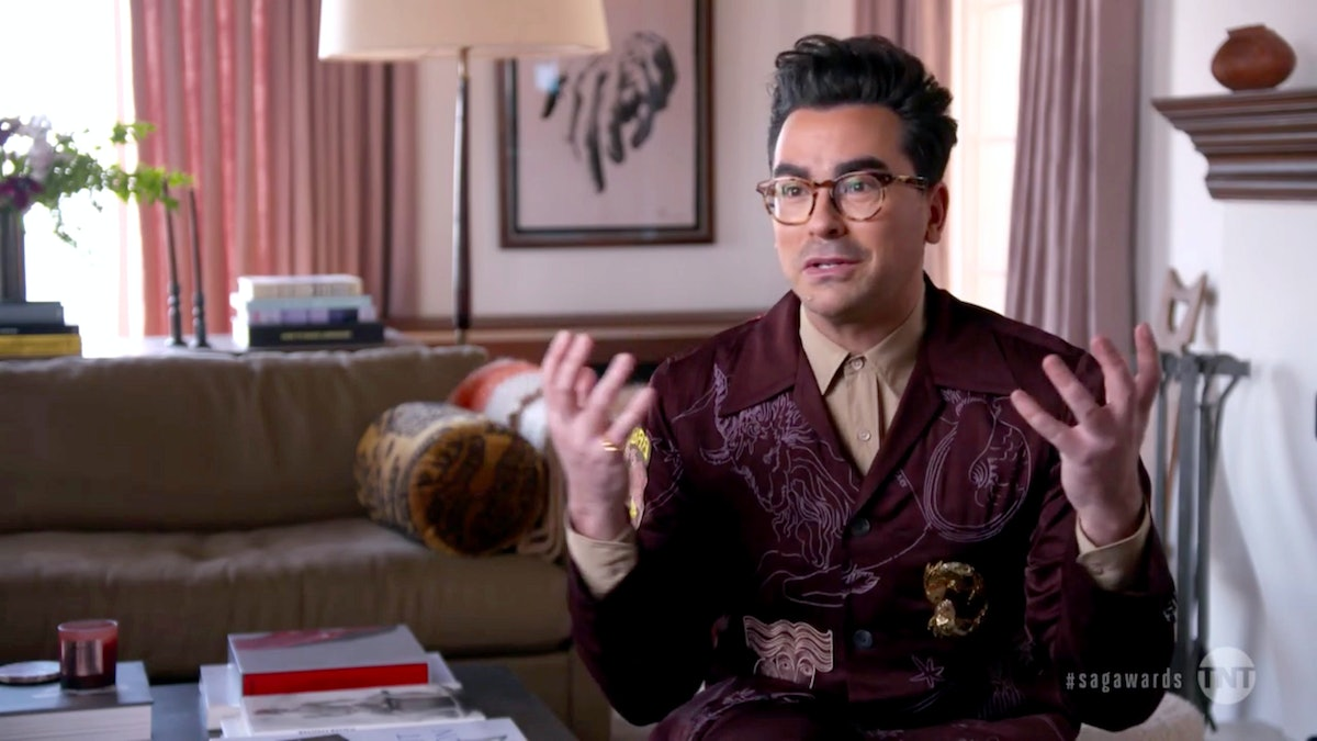 Dan Levy's new 'Standing By' is about guardian angels stuck here on Earth.