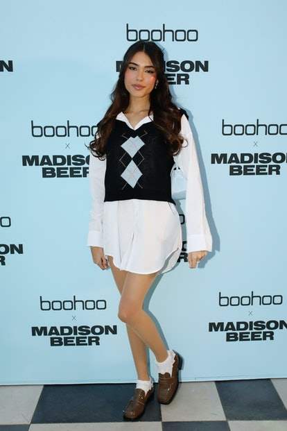 LOS ANGELES, CALIFORNIA - AUGUST 02: Madison Beer attends boohoo x Madison Beer Launch Event at Pend...