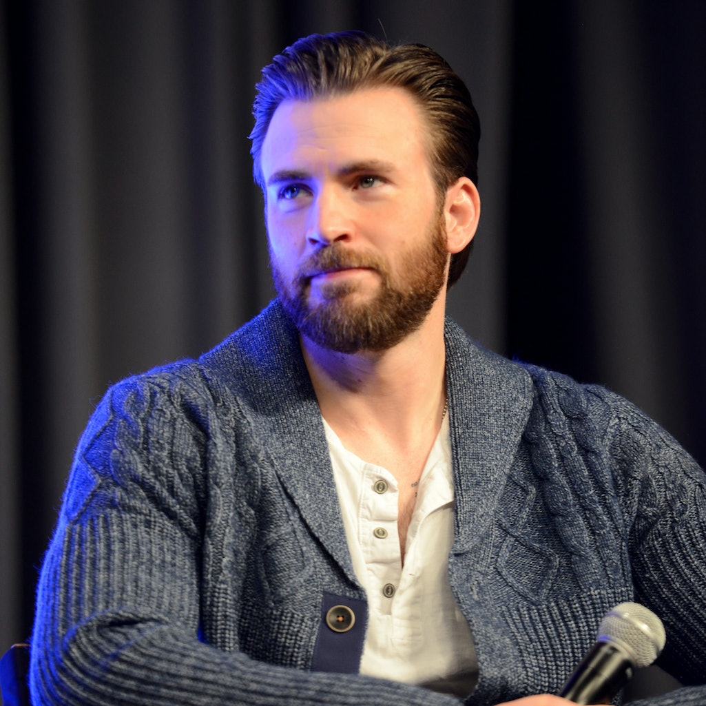 Chris Evans attends a panel at 2016's Wizard World Comic Con in New Orleans.