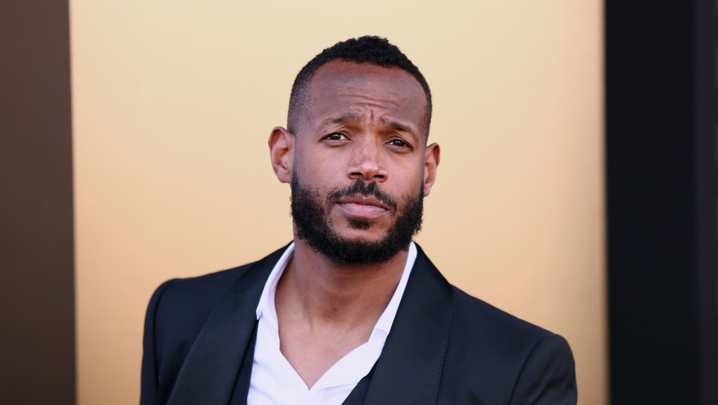 """LOS ANGELES, CALIFORNIA - AUGUST 08: Marlon Wayans attends the premiere of MGM's """"Respect"""" at Regenc..."""