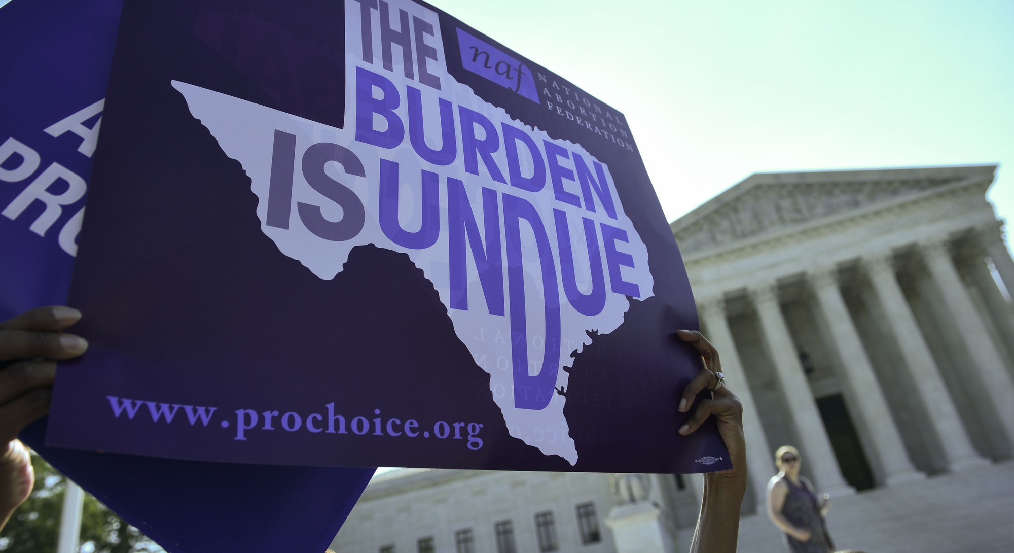 The U.S. Supreme Court didn't respond to an application to stop the new Texas abortion law, SB 8.