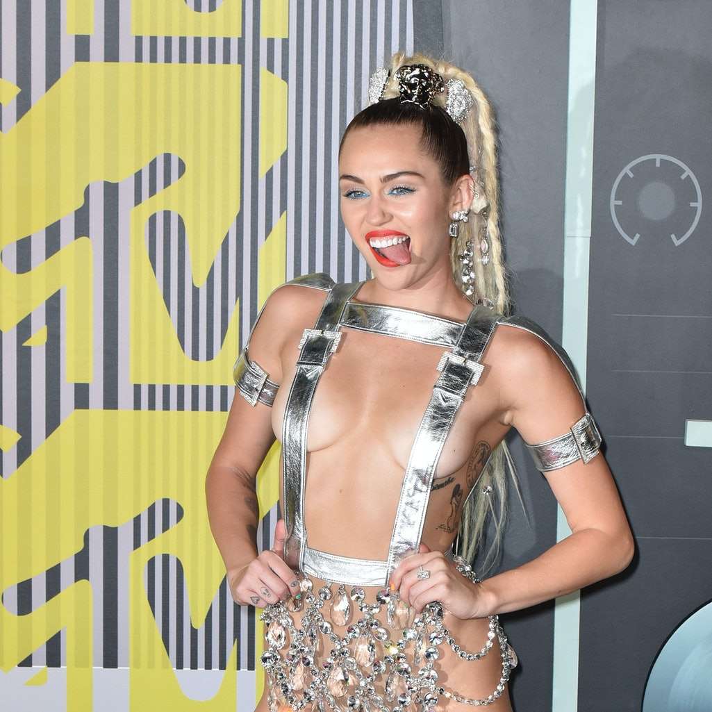 The 10 Most Infamous Moments In MTV Video Music Awards History. Photo via C Flanigan/Getty Images En...