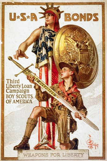 Weapons for Liberty Liberty Loan Poster by Joseph Christian Leyendecker   (Photo by Library of Congr...