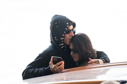 Kourtney Kardashian and Travis Braker have a powerful conjunction aspect between these celestial bod...