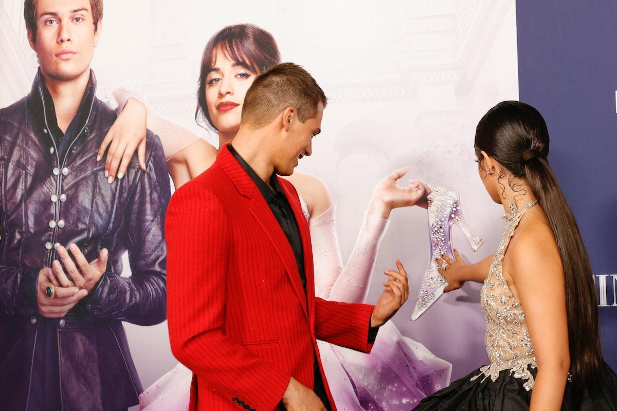 LOS ANGELES, CALIFORNIA - AUGUST 30: (L-R) Nicholas Galitzine and Camila Cabello attend the Los Ange...
