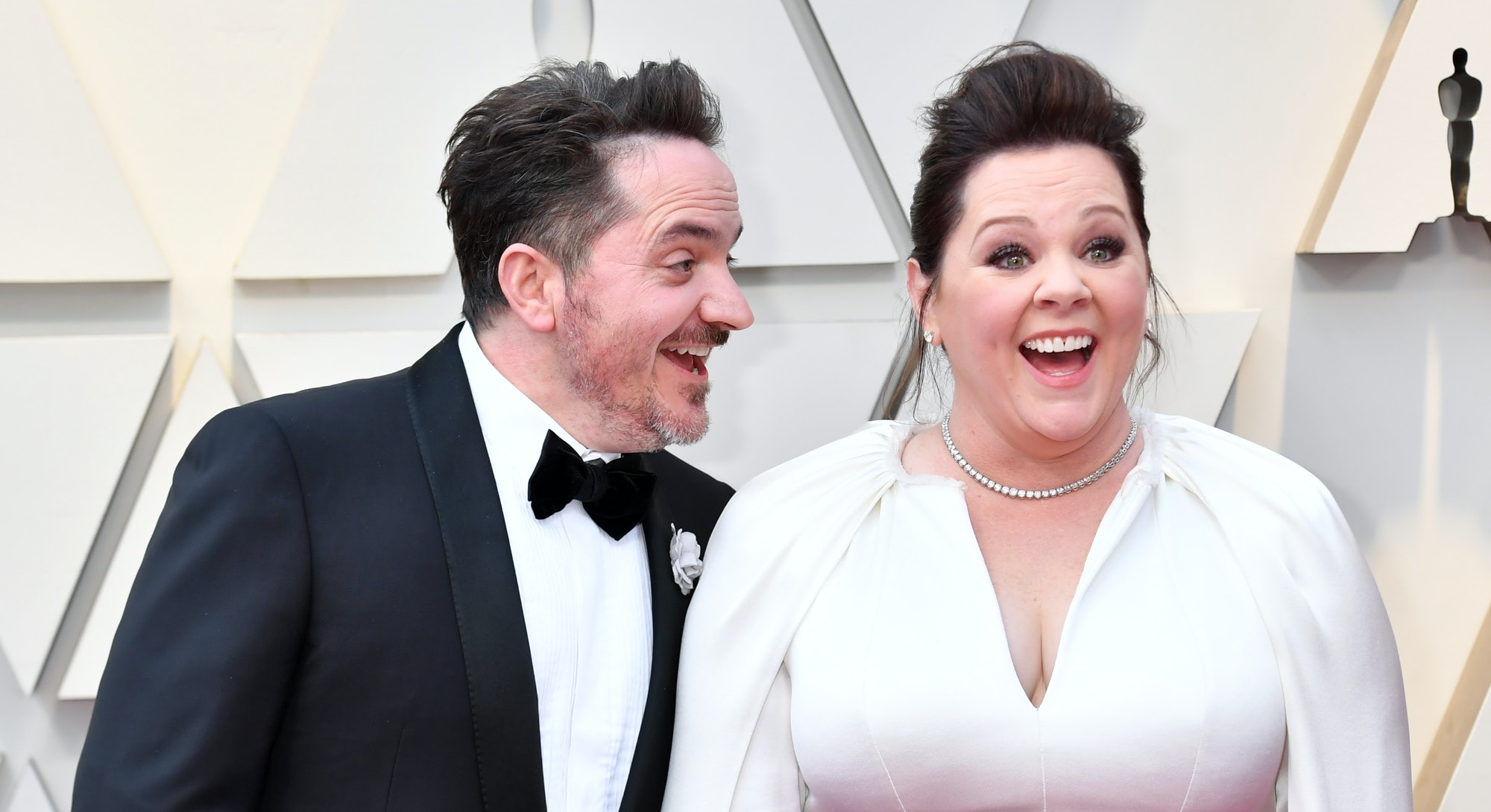 HOLLYWOOD, CA - FEBRUARY 24:  (L-R) Ben Falcone and Melissa McCarthy attends the 91st Annual Academy...