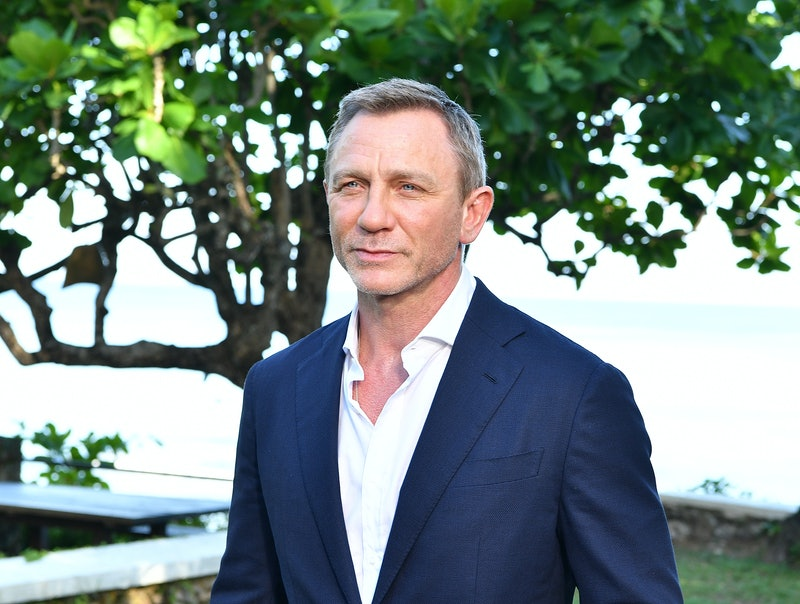 "MONTEGO BAY, JAMAICA - APRIL 25:  Actor Daniel Craig attends the ""Bond 25"" film launch at Ian Flemin..."