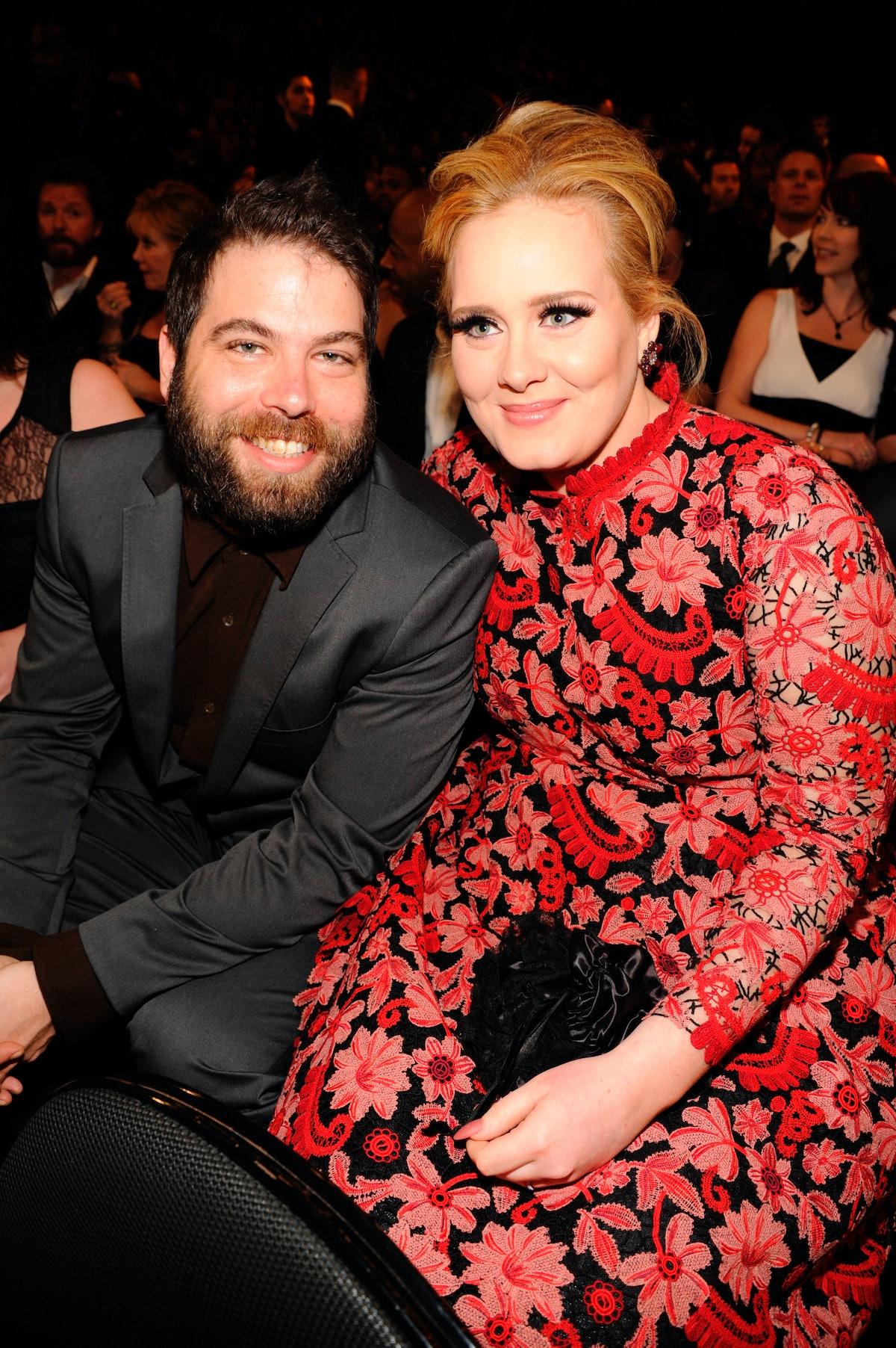 Adele and Simon Konecki were married.