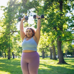 Trainers share 9 upper body exercises with weights that'll strengthen your arms, shoulders, and back...