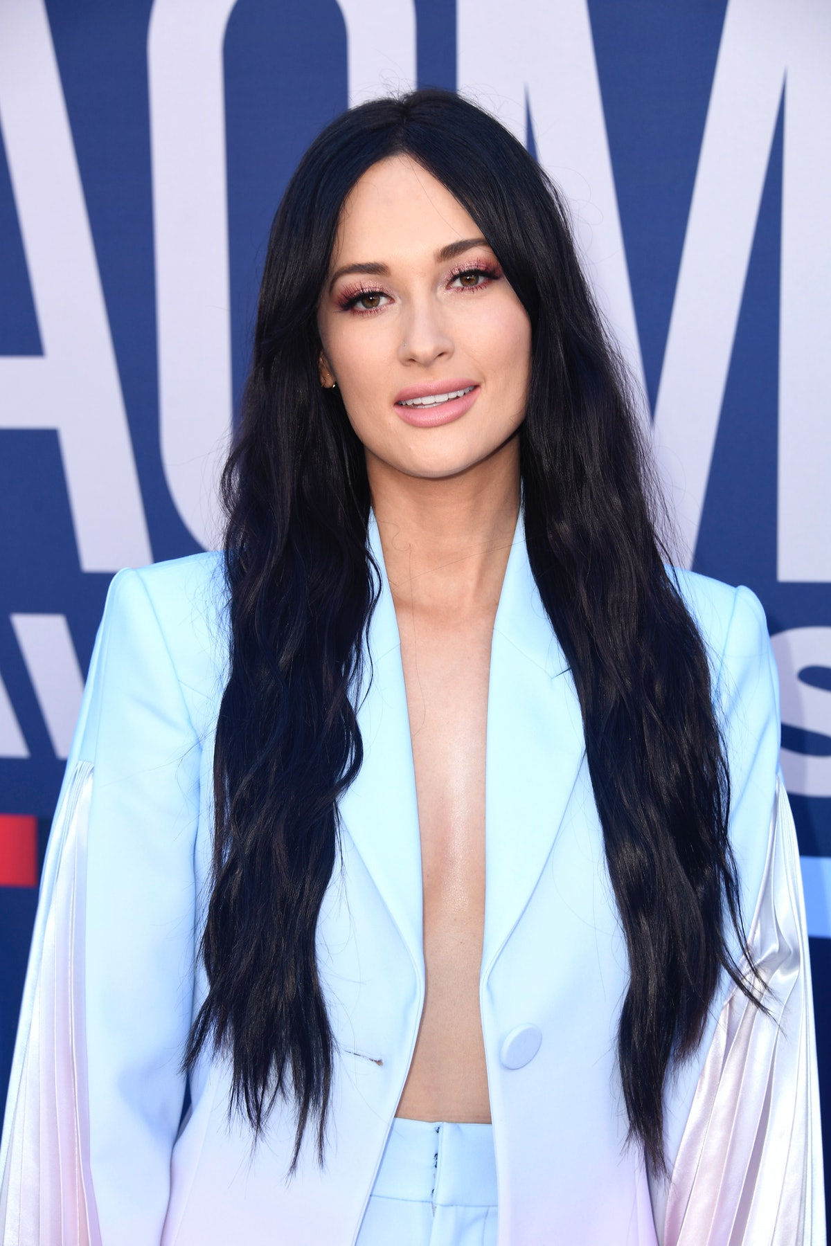 LAS VEGAS, NEVADA - APRIL 07: Kacey Musgraves attends the 54th Academy Of Country Music Awards at MG...