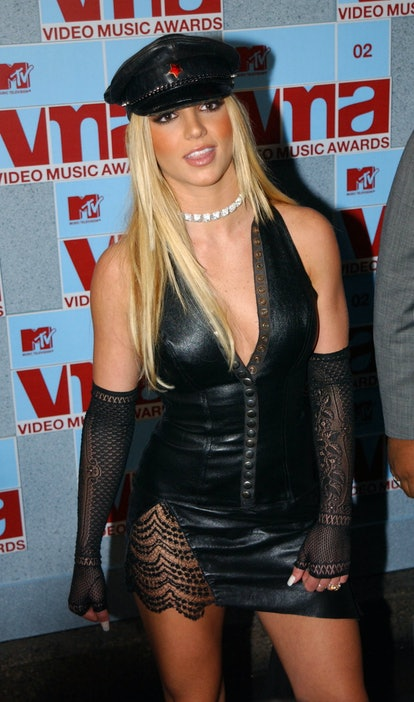 Dress as Britney Spears at 2002 VMAs for Halloween