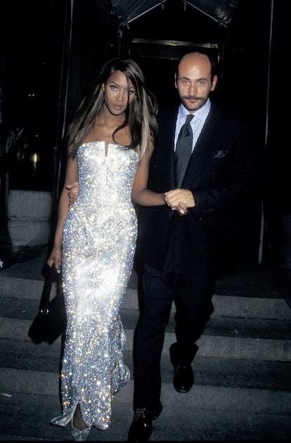 Naomi Campbell at the 1995 Met Gala.