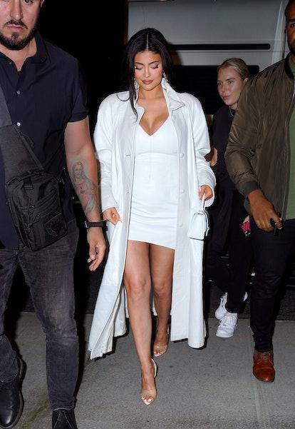 NEW YORK, NEW YORK - SEPTEMBER 08: Kylie Jenner is seen on September 08, 2021 in New York City. (Pho...