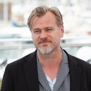 CANNES, FRANCE - MAY 12: Director Christopher Nolan waves as he attends the Rendezvous With Christop...