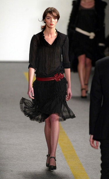 On 9/11's anniversary, several New York designers open up about the Fall 2002 fashion collections th...