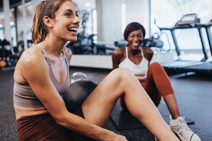 One way to stay motivated when starting a workout? Find an accountability partner.