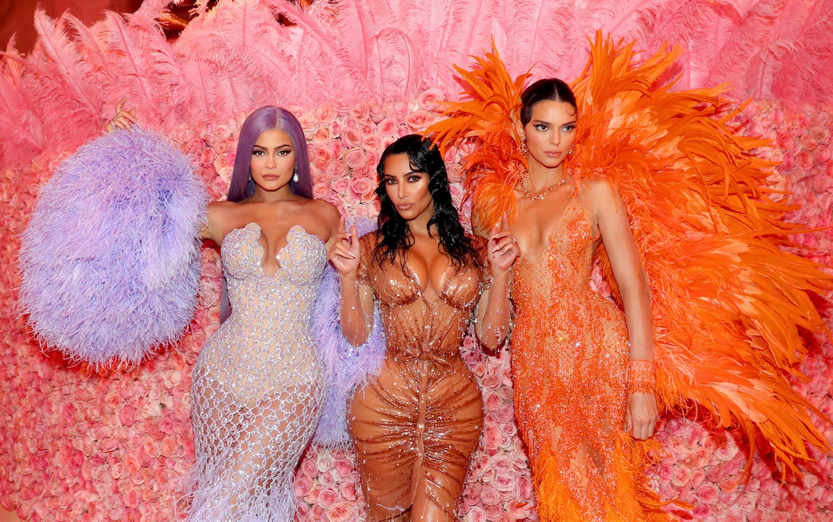NEW YORK, NEW YORK - MAY 06: (EXCLUSIVE COVERAGE) Kylie Jenner, Kim Kardashian West, and Kendall Jen...