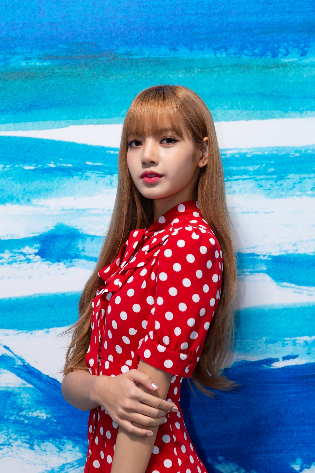 NEW YORK, NY - SEPTEMBER 12:  Lisa of BlackPink attends the MICHAEL KORS COLLECTION Spring 2019 Runw...