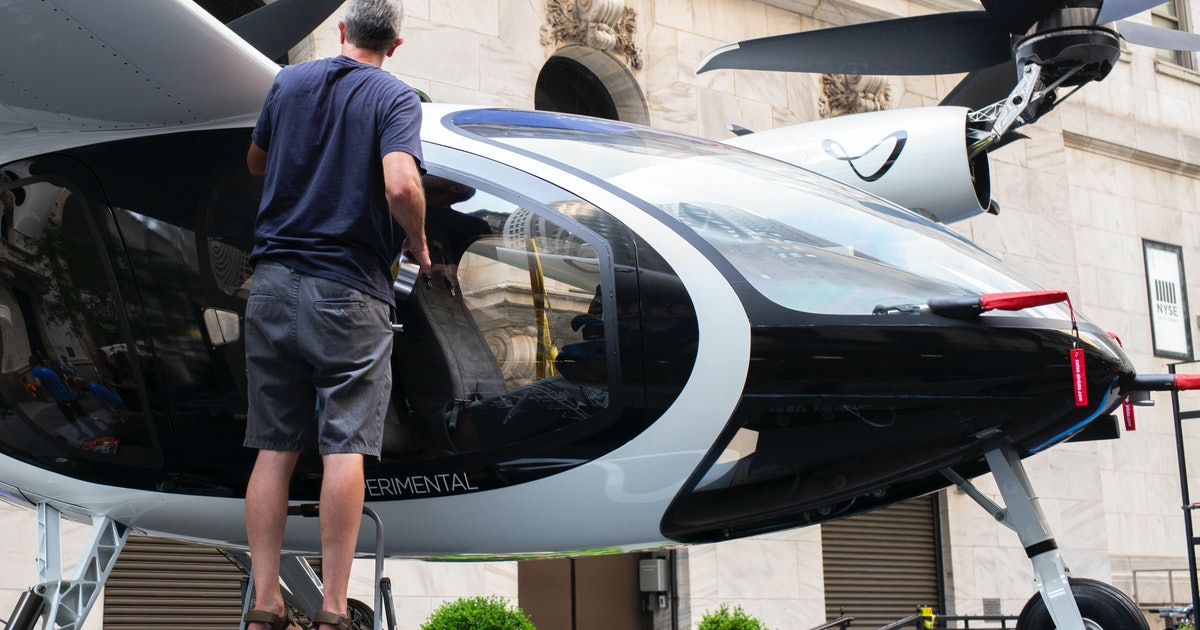 Look: NASA's futuristic eVTOL helicopter is prepared for flight assessments
