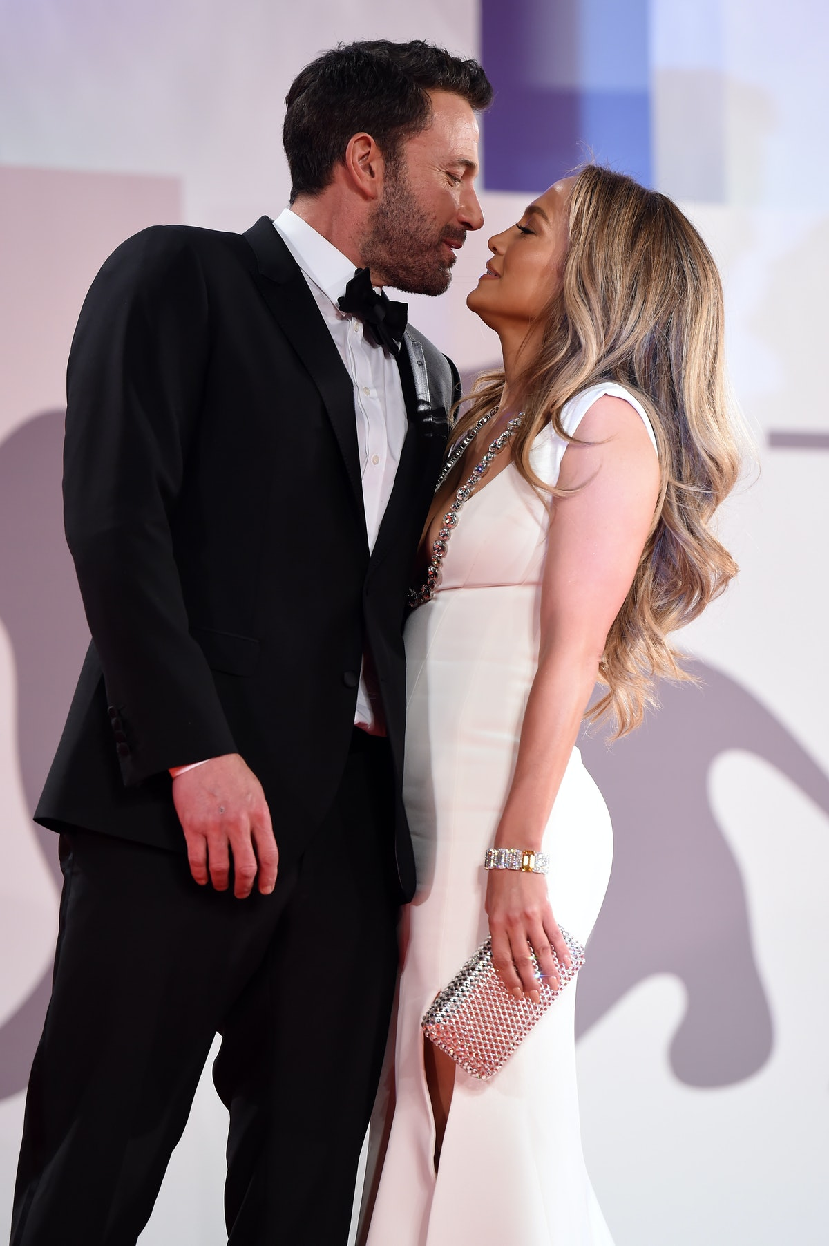 These pictures of Jennifer Lopez and Ben Affleck's 2021 red carpet debut are so sweet.
