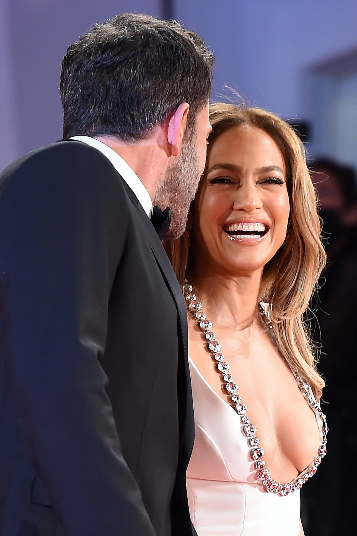 The pictures of Ben Affleck and Jennifer Lopez at the red carpet premiere of 'The Last Duel' mark th...