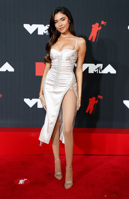 NEW YORK, NEW YORK - SEPTEMBER 12: Madison Beer attends the 2021 MTV Video Music Awards at Barclays ...