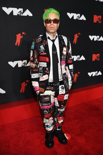 NEW YORK, NEW YORK - SEPTEMBER 12: Mod Sun attends the 2021 MTV Video Music Awards at Barclays Cente...