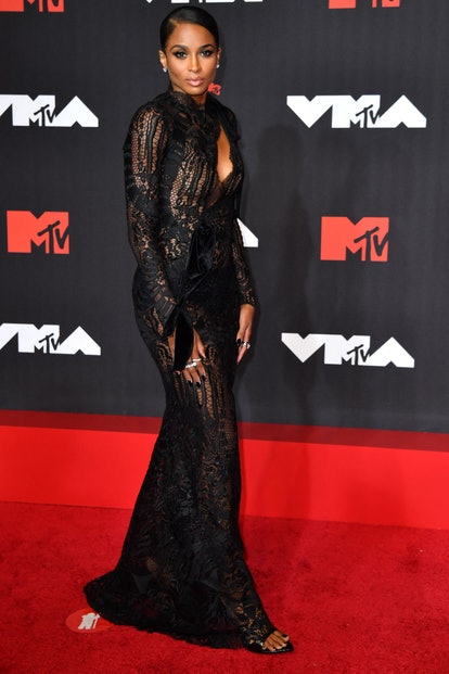 The naked dress trend is alive and well on the VMAs 2021 red carpet. From Ashanti to Hailey Bieber, ...