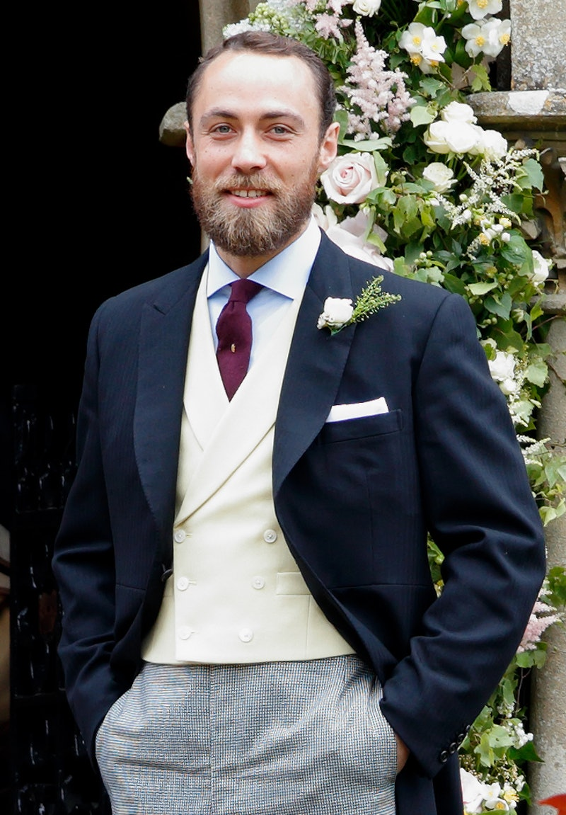 James Middleton attends the wedding of Pippa Middleton and James Matthews at St Mark's Church