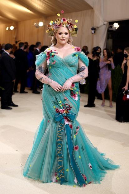 NEW YORK, NEW YORK - SEPTEMBER 13: Nikkie de Jager attends The 2021 Met Gala Celebrating In America:...
