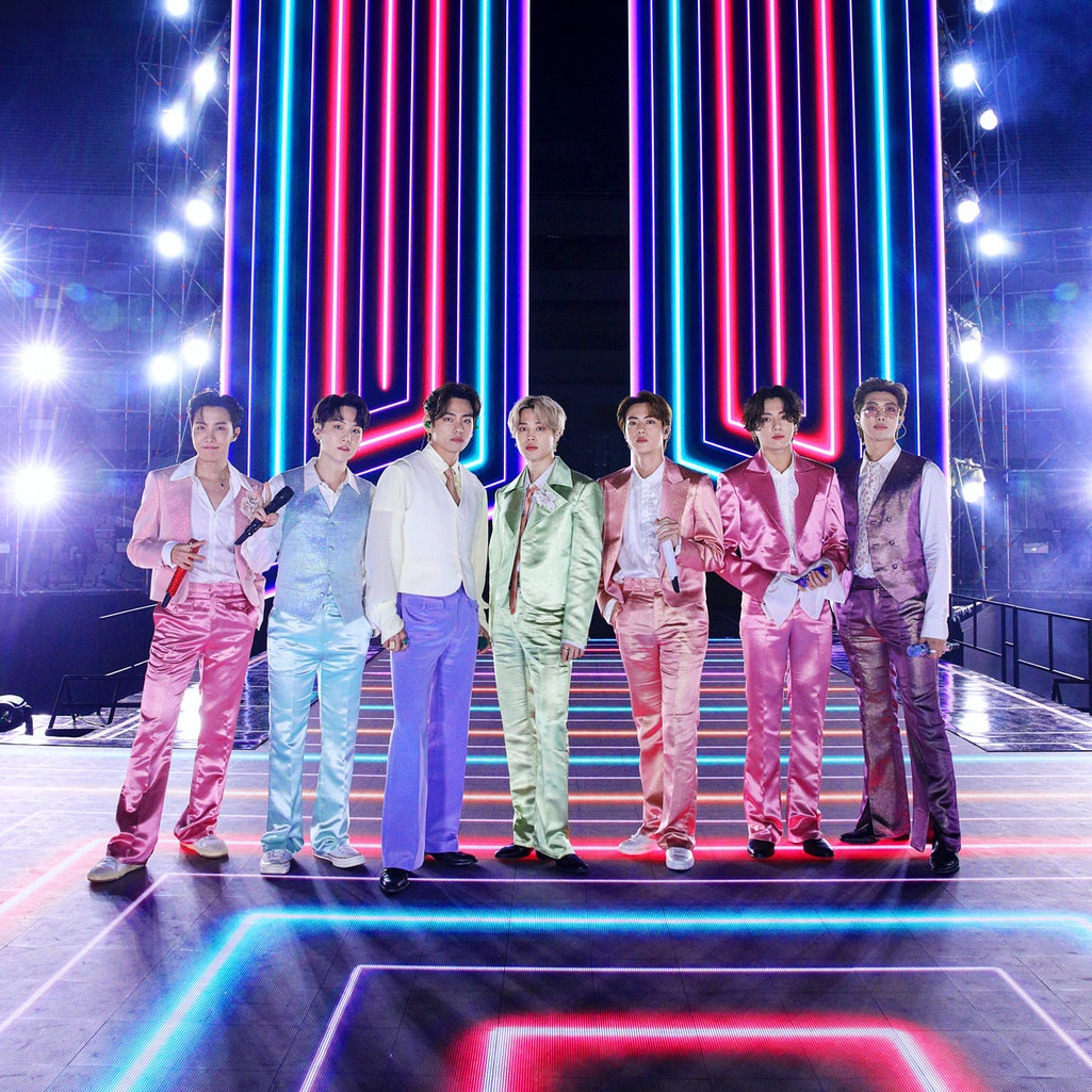 The 2021 VMA for Song of the Summer was one of three awards won by BTS at this year's VMAs. Photo vi...