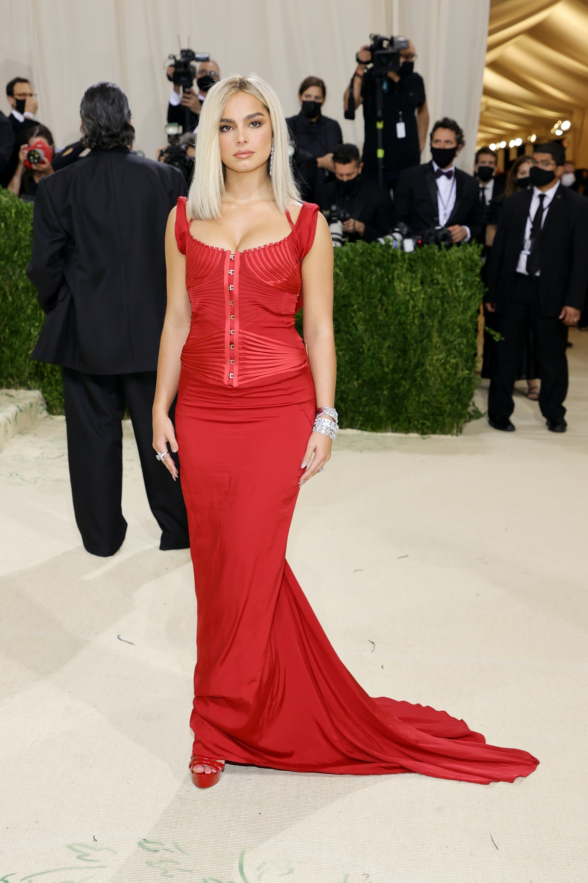 Addison Rae wore vintage Tom Ford to the 2021 Met Gala.