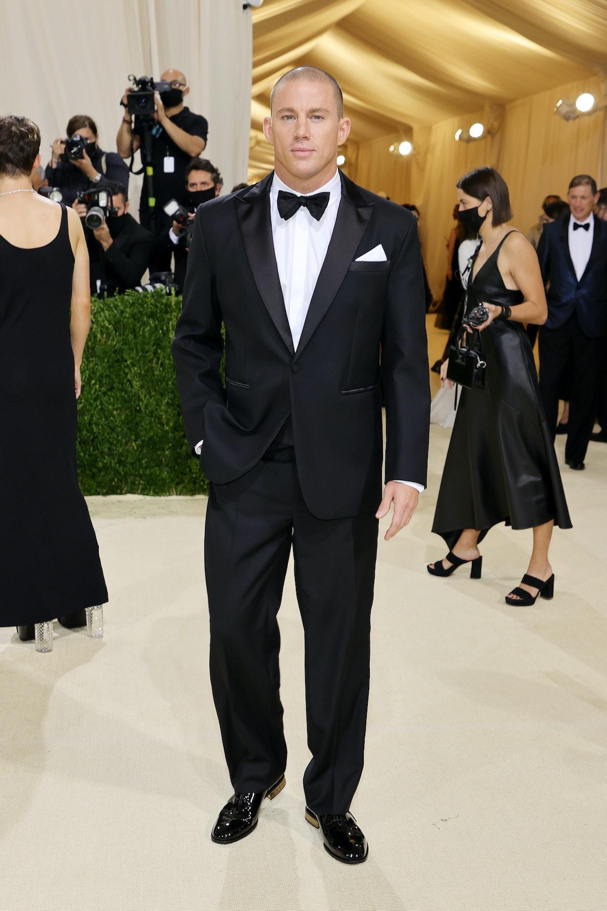 NEW YORK, NEW YORK - SEPTEMBER 13: Channing Tatum attends The 2021 Met Gala Celebrating In America: ...