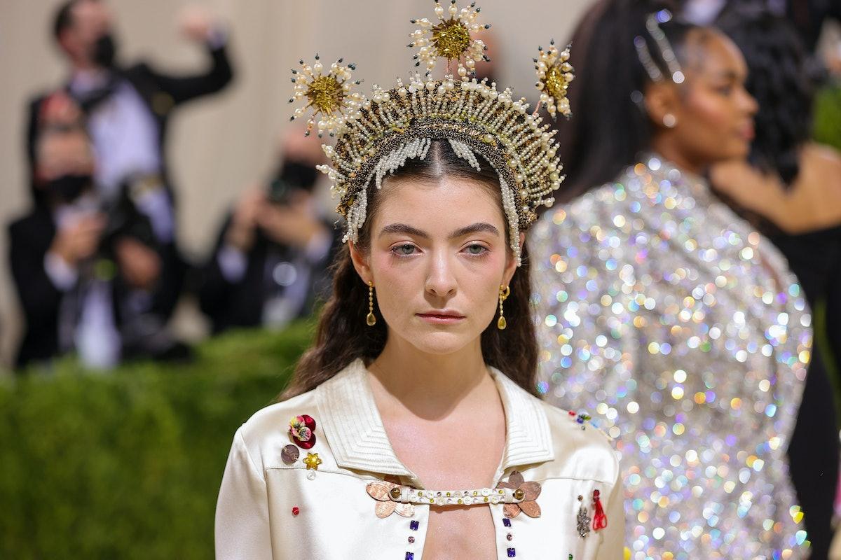 Lorde met gala 2021