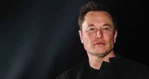 BROWNSVILLE, TX - SEPTEMBER 28: SpaceX CEO Elon Musk gives a presentation on his Starship rocket at ...