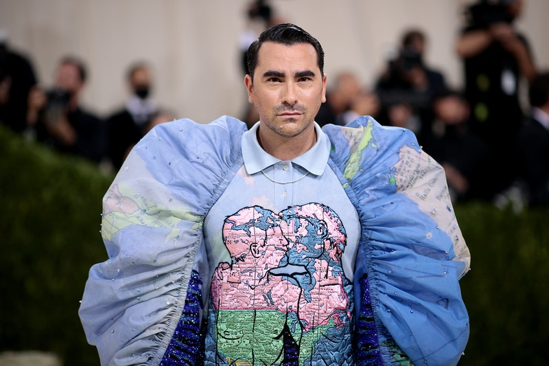 Dan Levy attended The 2021 Met Gala Celebrating In America: A Lexicon Of Fashion at Metropolitan Mus...