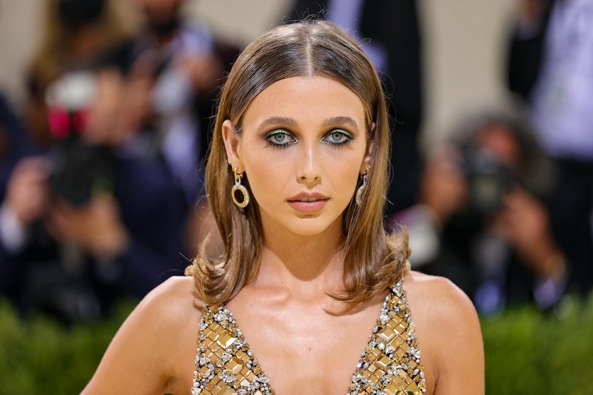 Emma Chamberlain met gala 2021