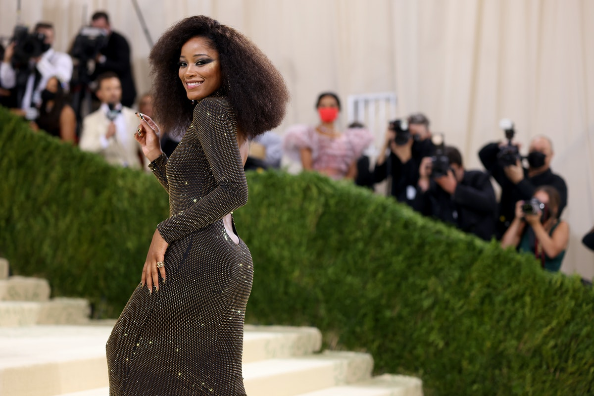 Keke Palmer attends The 2021 Met Gala Celebrating In America: A Lexicon Of Fashion