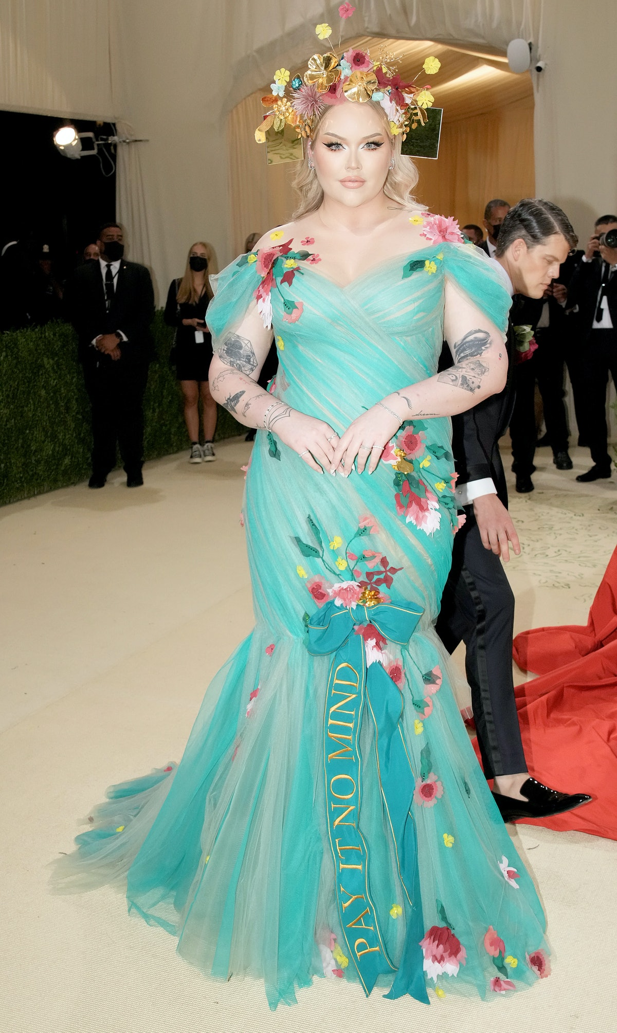Nikkie de Jager attends The 2021 Met Gala in a tribute to Marsha P. Johnson