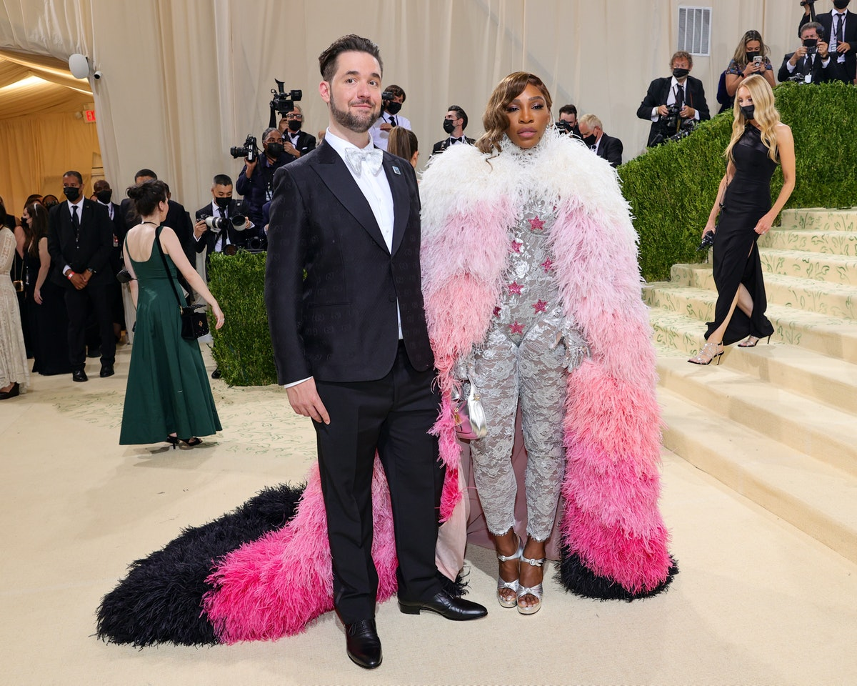 Alexis Ohanian and Serena Williams attend The 2021 Met Gala