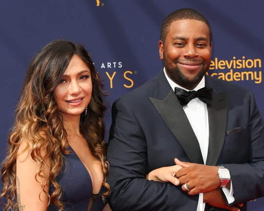 LOS ANGELES, CA - SEPTEMBER 09:  Actor Kenan Thompson (R) and his Wife Christina Evangeline (L) atte...