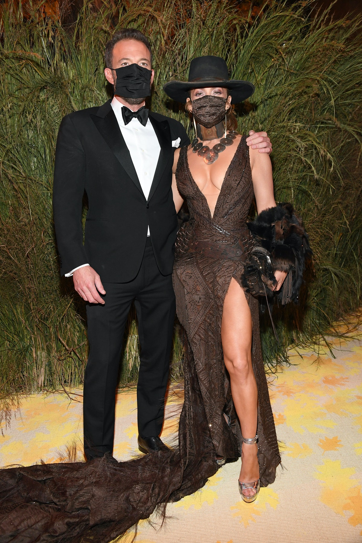 Jennifer Lopez and Ben Affleck's masked kiss at the Met Gala says a lot about their relationship.